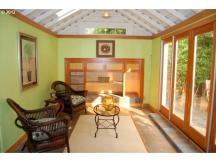 Interior as a garden studio